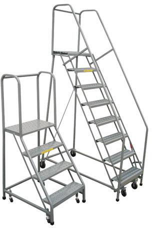 Rolling Ladders Platform Ladders U S Industrial Supply