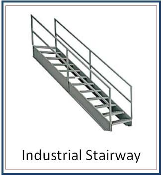 CW-INDUSTRIAL STAIRWAY